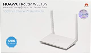 HUAWEI 2724652191302 ROUTER WS318N,N300 FAST ETHERNET WIRELESS,5DBI ANTENNAS, CONNECTION SPEED UP TO 300 MBPS