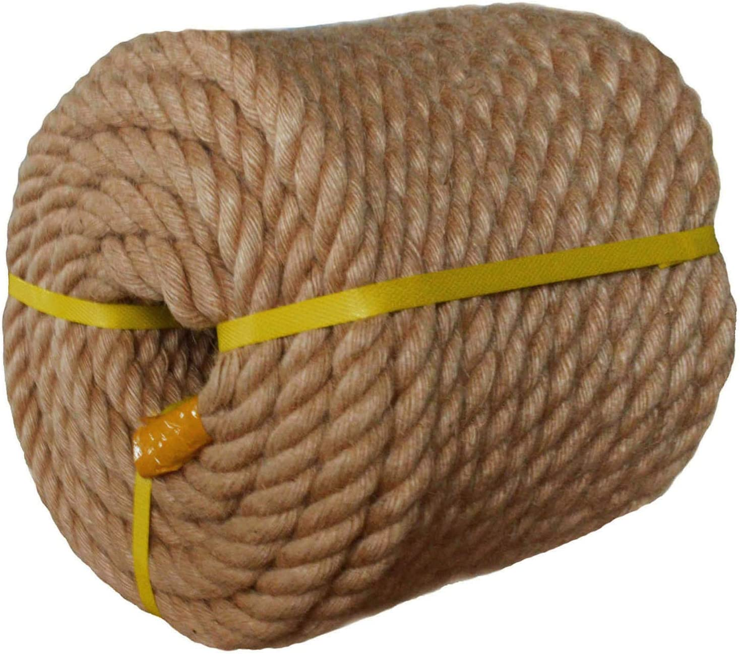 Twisted Manila Rope Jute 1 in New products world's highest quality popular ft Thick Baltimore Mall 100 Natural Hemp x