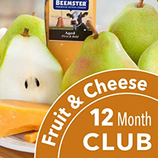 Golden State Fruit Monthly Fruit and Cheese Club - 12 Month Club