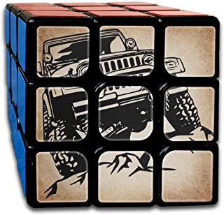 3x3 Rubik Cube Jeep Wrangler Car Smooth Magic Cube Sequential Puzzle