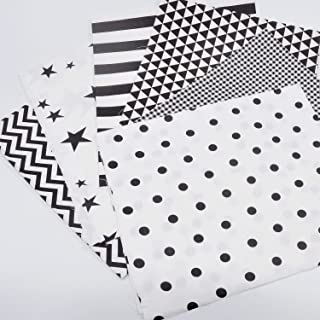 Black white butterfly stencil quilting cotton fabric by 14 or 12 yard Fat quarter fabric Australian native fabric