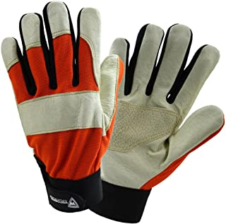 West Chester Protective Gear Large Size Performance Hybrid Pig Grain Glove