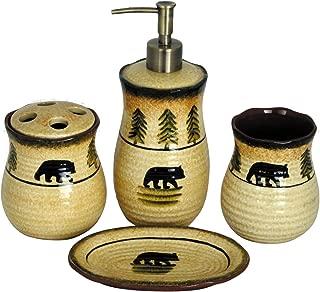 HiEnd Accents Bear Lodge Bathroom Set - BA1810