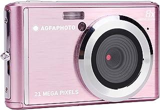 AGFA Photo DC5200 - Cámara de Fotos Digital compacta Color Rosa