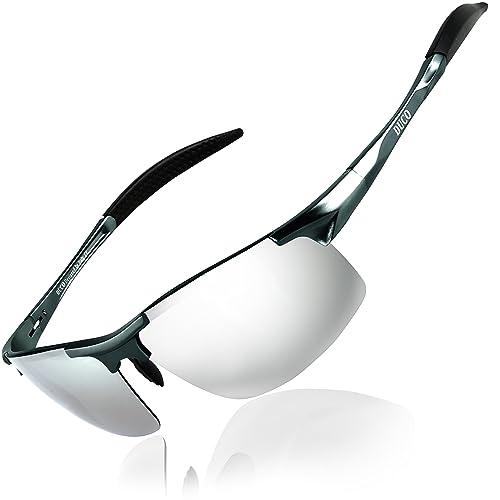 00fe540d3f77 DUCO Mens Sports Polarized Sunglasses UV Protection Sunglasses for Men 8177s