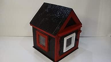 Heated Outdoor Cat House/Rear Door