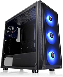Thermaltake Tempered Glass RGB Edition Black Tempered Glass ATX Mid Tower