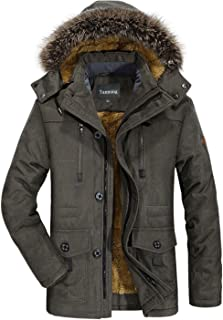 Best male coat with fur hood Reviews