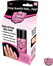 Ontel Pink Armor Nail Gel, 0.5 Ounce - As Seen on TV