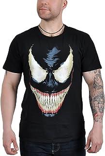 Spiderman–Venom Smile–Camiseta para hombre–negro