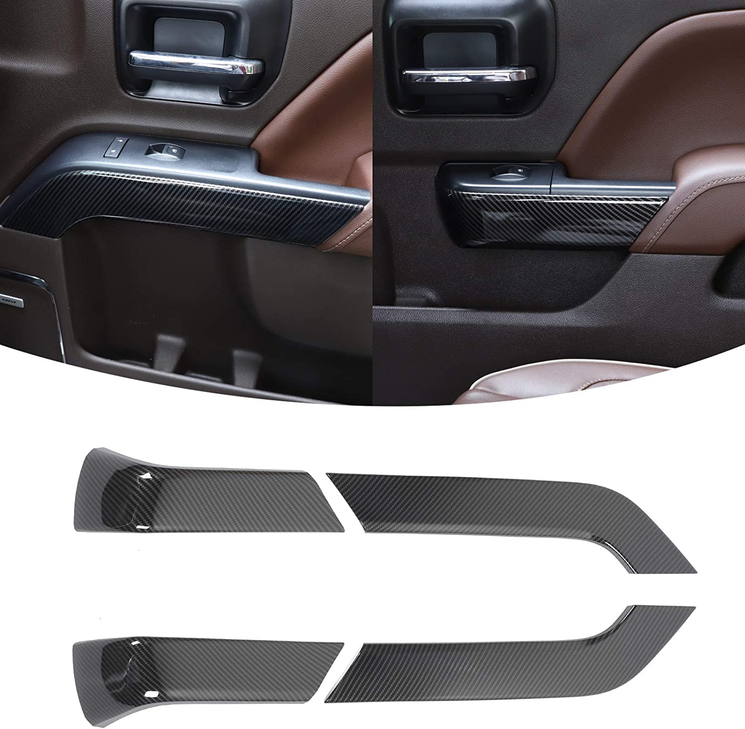 At the price RT-TCZ Inner Door Kansas City Mall Handle Bowl Accessorie ABS Cover Interior Trim