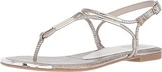 Best womens silver flat sandals Reviews