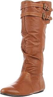 Naughty Monkey Women's Venus Boot,Tan,8 M US