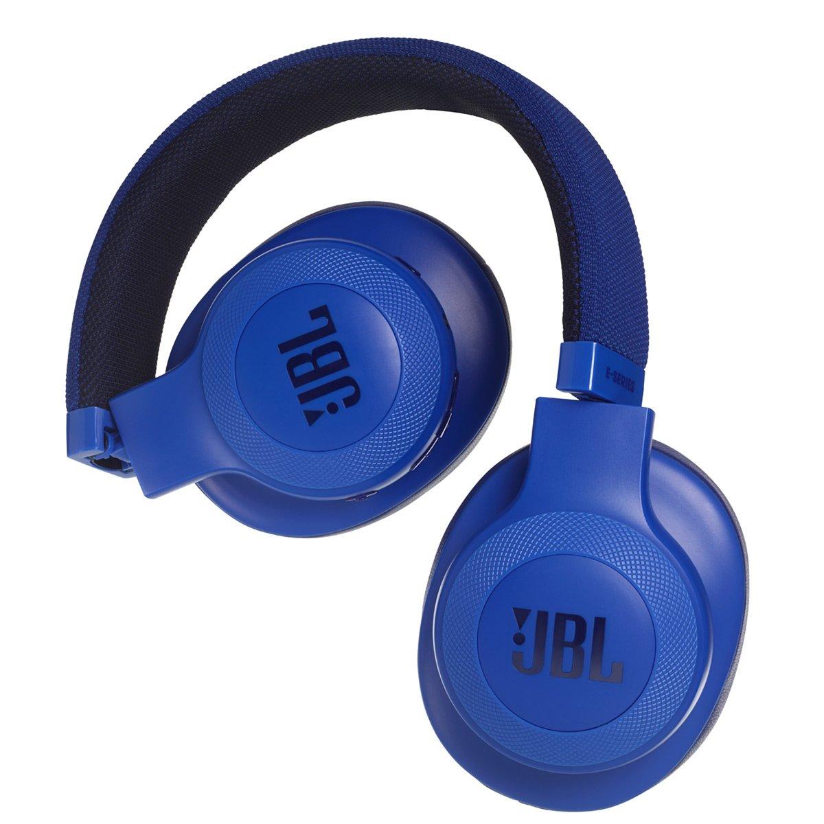 سماعة رأس لاسلكية توضع على الأذن E55Bt أسود