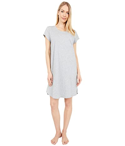 Skin Carissa Organic Pima Cotton Sleepshirt (Heather Grey) Women
