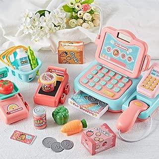 kingpo Simulación cajero bebé supermercado Caja