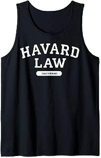 Harvard Law Just Kidding College Tank Top
