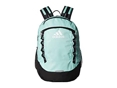 adidas Excel V Backpack (Clear Mint/Carbon/Onix/White) Backpack Bags