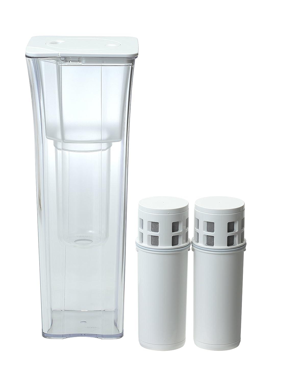 三菱ケミカル?クリンスイ クリンスイポット型浄水器CP002+カートリッジお買い得セット CP002W-WT