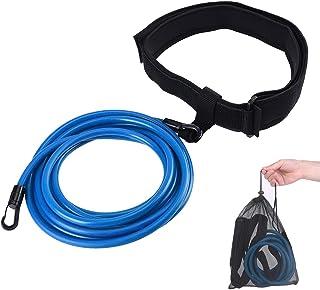 comprar comparacion TATAFUN Cinturón de Natación Ajustable para Piscinas de Natación, Exteriores Cinturón de Resistencia para Natación, Cintur...