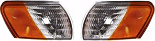 BuyRVlights Forest River Windsong 1998-2001 RV Motorhome Pair (Left & Right) Replacement Corner Turn Signal Light Lamp