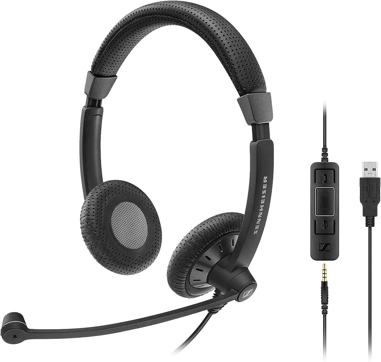Sennheiser Sc Double Sided Business Headset Sc 75 Usb Elektronik