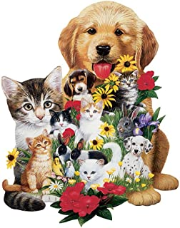 Best dog shaped jigsaw puzzles Reviews