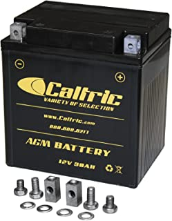 CALTRIC AGM BATTERY compatible with SEADOO GTX 4-TEC 2003 2004 2005 2007 / GTX 2006 2008