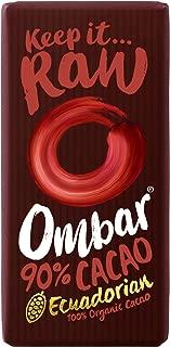 Ombar 90% Raw Chocolate Bar 35g - Pack of 2