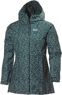 Helly Hansen Women's Bellevue Hooded Lightweight Packable Waterpoof Breathable Raincoat Jacket