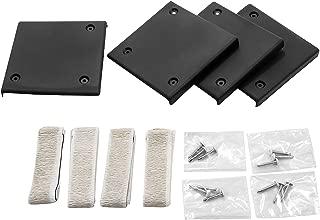 Camco Mfg 42219 Slideout Corner Plates Black