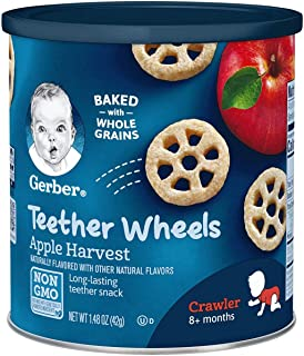 Gerber Apple Harvest Teether Wheels, 42 g