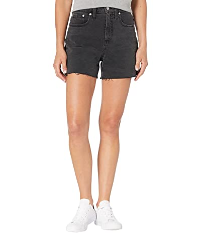 Madewell Curvy High-Rise Denim Shorts in Lunar Wash Women