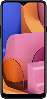 "Samsung Galaxy A20s (32GB 2GB RAM) 6.5"" HD+ Triple Camera SM-A207F/DS 4G LTE (AT&T Europe Asia Africa Cuba Digitel) Dual SIM GSM Factory Unlocked - International Version - No Warranty (Black)"
