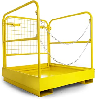 work platform for forklift