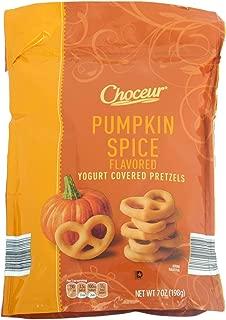 Choceur Pumpkin Spice Flavored Yogurt Covered Pretzels