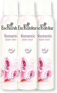 Enchanteur Body Mist Deo, Romantic, 150ml (Pack of 3)
