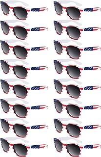 16 Pieces Toddlers Kids American Flag Glasses Patriotic...