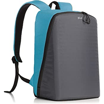 PIX Women's Backpack with Programmable Screen, Cyan, Large