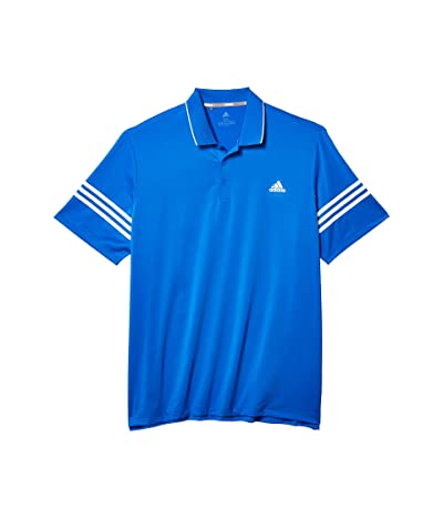 adidas Golf Ultimate365 Blocked Polo Shirt (Glory Blue/White) Men