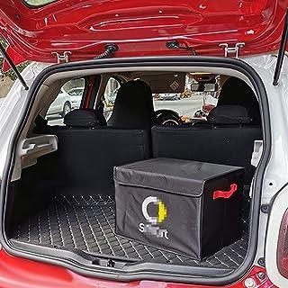 XHSM pour Smart 451 453 Fortwo Forfour Boîte De Rangement Universelle pour Coffre De Voiture Panier Pliant Intérieur Range...