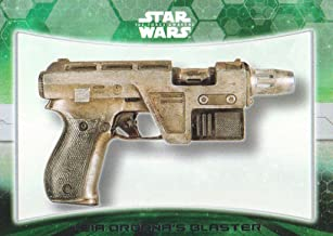 2015 Topps Star Wars The Force Awakens Series 1 Weapons #7 Leia Organa's blaster
