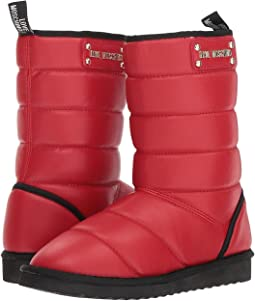 Quilted Ankle Boot