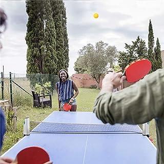 LQKYWNA Mesa De Ping Pong Net Ball Mesh Portátil Extensible Instantáneo Juego De Mesa De Ping-Pong De Viaje Interior Al Aire Libre