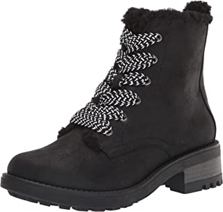 LifeStride Women's Kunis Cozy Snow Boot, Black, 10