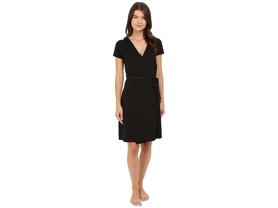 PACT Wrap Dress (Black 1) Women