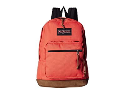 JanSport Right Pack (Orange Fade) Backpack Bags