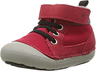 Stride Rite Baby Soft Motion Danny Ankle Boot, Red, 5 Medium US Toddler