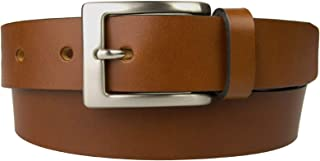 Mens Leather Belt - MADE IN UK - Full Grain Leather - 1 3/16 inch Wide