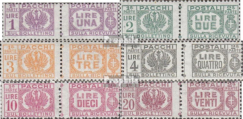 envío rápido en todo el mundo Prophila Collection Collection Collection Italia PM60-PM65 (completa.edición.) 1946 sellos de paquetes (sellos para los coleccionistas)  vendiendo bien en todo el mundo
